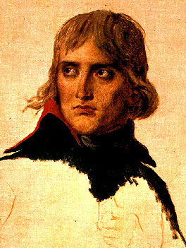Napoleon in 1798 by Jacques Louis David