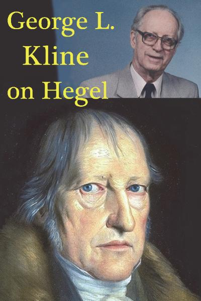 George L. Kline on Hegel