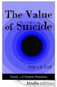 Kindle e-book: The Value of Suicide, by Eric v.d. Luft